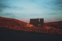 sunset-hut